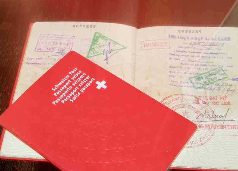 Switzerland Tourist Visa