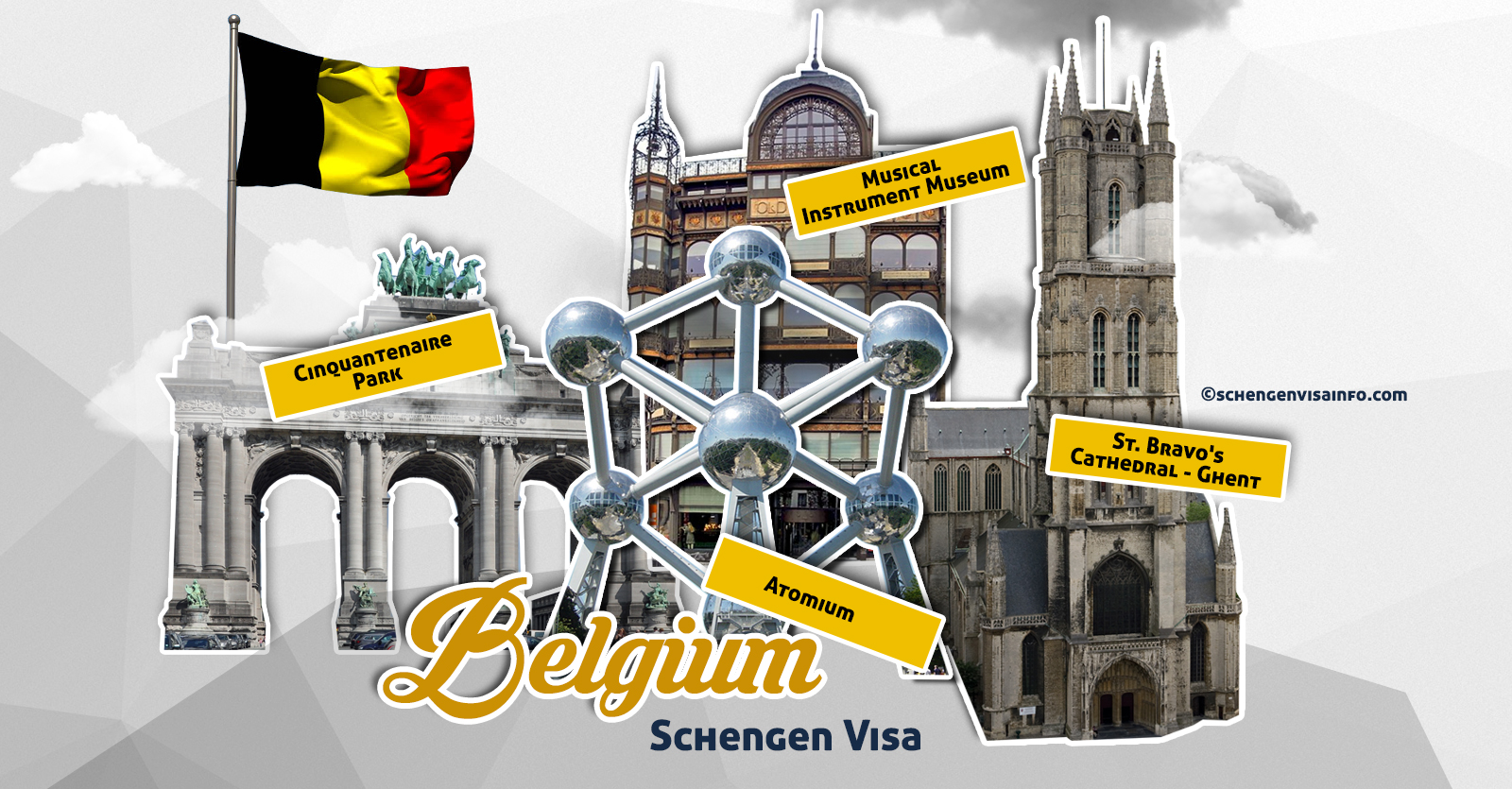 Apply Online For Belgium Visa